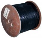Кабель TWT коаксиальный RG11U 75 Ом, CCS, оплетка AL 96*0.16мм, PE, внешний, черный, 305 м (TWT-RG11-CS96/ 3-OUT)