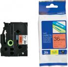 Картридж для принтеров Brother TZe461: для печати наклеек черным на красном фоне, ширина: 36 мм. (TZE461)