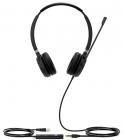 Гарнитура YEALINK UH36 Dual-Teams Дуо, Проводная, HD звук, USB и 3, 5 mm jack, шт (UH36 DUAL-TEAMS)