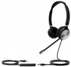 Гарнитура YEALINK UH36 Dual-UC Дуо, Проводная, HD звук, USB и 3, 5 mm jack, шт (UH36 DUAL-UC)