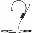 Гарнитура YEALINK UH36 Mono-UC Моно, Проводная, HD звук, USB и 3, 5 mm jack, шт (UH36 MONO-UC)