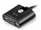 Переключатель электронный ATEN 2 PORT USB Sharing Device. (US224-AT)