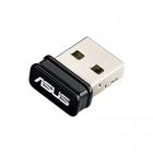 Адаптер ASUS USB-N10 Nano / / WI-FI 802.11n, 150 Mbps USB Adapter ; 90IG05E0-MO0R00 (USB-N10 NANO.)