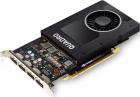 Видеокарта VGA PNY NVIDIA Quadro P2200, 5 GB GDDR5x/ 160 bit, PCI Express 3.0 x16, 4?DP1.4 (VCQP2200-BLK)