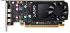 Видеокарта PNY Nvidia Quadro P400DVI 2GB DDR5, PCIE, 64-bit 256 Cores, 3*mDP1.4, 3*mDP to DVI-D SL adapter, ATX bracket, .... (VCQP400DVIBLK-1)