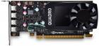 Видеокарта PNY Nvidia Quadro P620 2GB GDDR5, 128-bit, PCIEx16 2.0, mini DP 1.4 x4, Active cooling, TDP 40W, LP, Bulk, (Y .... (VCQP620V2BLK-5)