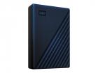 "Внешний жёсткий диск WD My Passport for Mac WDBA2F0050BBL-WESN 5TB 2, 5"" USB 2.0/ USB 3.2 (Gen 1) blue (D8B) (WDBA2F0050BBL-WESN)"