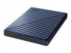"Внешний жёсткий диск WD My Passport Ultra (Metal Edition) WDBC3C0020BBL-WESN 2TB 2, 5"" USB 3.1/ USB-C blue (E1B) (WDBC3C0020BBL-WESN)"