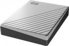 "Внешний жёсткий диск WD My Passport Ultra (Metal Edition) WDBFTM0040BSL-WESN 4TB 2, 5"" USB 3.1/ USB-C silver (E1B) (WDBFTM0040BSL-WESN)"