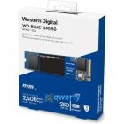 Твердотельный накопитель SSD WD Blue SN550 WDS250G2B0C 250ГБ M2.2280 NVMe PCIe Gen3 8Gb/ s (WDS250G2B0C)