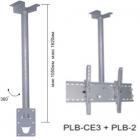 Потолочный кронштейн для LCD и плазменных панелей.Регулируемая высота 105-162 см., нагрузка 80кг (WM-CE3)
