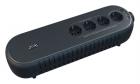 Источник бесперебойного питания Powercom Back-UPS WOW, OffLine, 850VA/ 425W, Tower, Schuko, USB (WOW-850U)