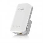 Точка доступа/мост/повторитель Zyxel WRE6606, AC1300, MU-MIMO, 802.11a/b/g/n/ac (300+867 Мбит/с), 1xLAN GE (WRE6606-EU0101F)
