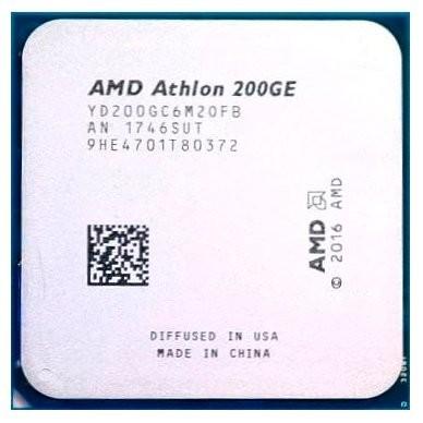 Процессор CPU AMD Athlon 200GE Raven Ridge 3200MHz AM4, 35W, Radeon Vega 3, YD200GC6M2OFB OEM (YD200GC6M2OFB) (YD200GC6M2OFB)