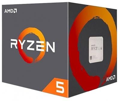 Процессор CPU AMD Ryzen X6 R5-2600X Pinnacle Ridge 3600MHz AM4, 95W, YD260XBCAFBOX BOX (YD260XBCAFBOX) (YD260XBCAFBOX)