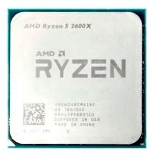 Процессор CPU AMD Ryzen X6 R5-2600X Pinnacle Ridge 3600MHz AM4, 95W, YD260XBCM6IAF OEM (YD260XBCM6IAF) (YD260XBCM6IAF)