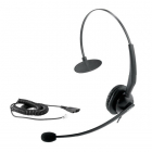 Проводная аудиогарнитура YEALINK YHS33 Головная проводная гарнитура с шумоподавлением, моно, Quick Disconnect, разъем RJ .... (YHS33)