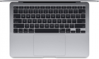 Ноутбук Apple 13-inch MacBook Air: 1.2GHz quad-core 10th-generation Intel Core i7 (TB up to 3.8GHz)/ 16GB/ 512GB SSD/ In .... (Z0X8000GP)