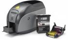 Принтер пластиковых карт Zebra Printer ZXP Series 1; Single Sided, UK/ EU Cords, USB (Z11-00000000EM00)