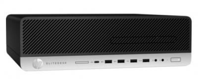 Персональный компьютер HP EliteDesk 800 G3 SFF Core i5-7500 3.4GHz, 8Gb DDR4-2400(1), 1Tb 7200, DVD-RW, USB Slim Kbd+USB .... (Z4D08EA#ACB)