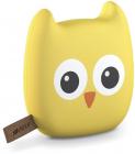 Внешний аккумулятор HIPER ZOO OWL Li-Pol 10000mAh 2.4A+1.5A 2xUSB, желтый (ZOO OWL 10000)