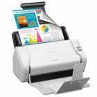Документ-сканер Brother ADS-2200, A4, 35 стр/ мин, 256Мб, цветной, дуплекс, DADF50, USB, Presto!® BizCard OCR (ADS2200TC .... (ADS2200TC1)