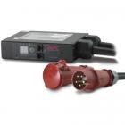In-Line Current Meter, 32A, 230V, IEC309-32A 3-PH, 3P+N+G (AP7175B)
