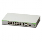 Коммутатор Allied Telesis 16 x 10/ 100T ports and 2 x combo ports (100/ 1000X SFP or 10/ 100/ 1000T Copper), Fixed AC po .... (AT-FS980M/ 18-50)
