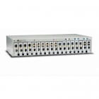 Allied Telesis 18-Slot Chassis for MMC2xxx Media Converters, one AC Multi-Region PSU (AT-MMCR18-60) (AT-MMCR18-60)