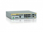 Коммутатор Allied Telesis L2+ managed switch, 8 x 10/ 100/ 1000Mbps POE+ ports, 2 x SFP uplink slots, 1 Fixed AC power s .... (AT-X230-10GP-50)