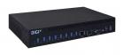 AnywhereUSB 8 Plus eight USB 3.1 Gen 1 Ports, single 10M/ 100M/ 1G/ 10G Ethernet, single SFP+, 12VDC (AW08-G300)