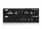 Удлинитель ATEN DVI Optical KVM Extender W/ 1.8M W/ EU ADP (CE680-AT-G)