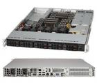 Корпус 1U, E-ATX 12''x13'', 10x2.5'' hot-swap SAS/ SATA, 2xFH, 1xLP, 437x43x597mm, redundant 700W, WIO (CSE-116AC-R700WB)
