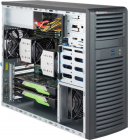 Black SC732D3 Desktop Chassis w/ 1200W (CSE-732D3-1200B)