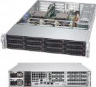 SC826B WIO w/ Direct Attached SAS3 4NVMe, Titanium 12 (CSE-826BAC4-R1K23WB)