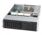 "3U chassis support/ E-ATX and ATX/ 8 x 3.5"" hot-swap SAS/ SATA/ 800W hot swap redundant (CSE-835TQ-R800B)"