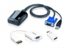Квм переключатель ATEN Laptop USB KVM Console Crash Cart Adapter IT Kit (CV211CP-AT) (CV211CP-AT)
