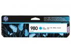 Картридж Cartridge HP 980 для HP OJ Ent X585/ X555 голубой (6600стр.) (D8J07A)