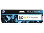 Картридж Cartridge HP 980 для HP OJ Ent X585/ X555 желтый (6600стр.) (D8J09A)