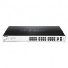 Коммутатор D-Link DGS-1100-26MPP/ C1A, L2 Smart Switch with 24 10/ 100/ 1000Base-T ports and 2 1000Base-T/ SFP combo-por .... (DGS-1100-26MPP/ C1A)