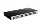 Коммутатор D-Link DGS-1210-52/ ME/ B1A, L2 Managed Switch with 48 10/ 100/ 1000Base-T ports and 4 1000Base-X SFP ports.1 .... (DGS-1210-52/ ME/ B1A)
