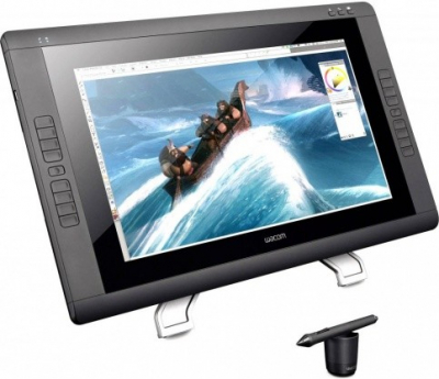 """Графический монитор-планшет Wacom Cintiq 22HD (22 дюйма) Interactive display Cintiq 22HD (22"""") (DTK-2200)"""