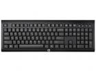Беспроводная клавиатура HP Wireless Keyboard K2500 cons