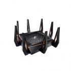 ASUS GT-AX11000 / / роутер 802.11b/ g/ n/ ac, ax, до 1148 + 4804Мбит/ c, 2, 4 + 5 гГц, 8 антенн, USB, GBT LAN ; 90IG04H0 .... (GT-AX11000)