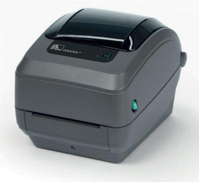 Принтер этикеток настольный TT GX430 TT Printer GX430t. 300dpi, Euro and UK cord, EPL2, ZPL II, USB, Serial, Ethernet (GX43-102420-000)