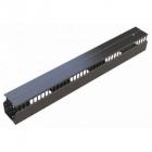 Вертикальный организатор повышенной ёмкости для стоек, 44 ''пальцев'' спереди, 45U x 251 x 300 мм (HDWM-VMF-45-25/ 30F-H)