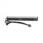 Базовый блок распределения электропитания (PDU), вертикальный, шнур с разъемом IEC 309 3м, 1-я группа розеток - 20xC13, .... (IP-BA-320C34C932)
