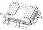 IW3702-4E-UXK9 Антенна Industrial Wireless AP 3702, 4 antenna ports on top (IW3702-4E-UXK9)