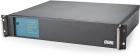 Источник бесперебойного питания Powercom King Pro RM KIN-2200AP, LCD, 2200VA/ 1760W, SNMP Slot, black (KIN-2200AP LCD)