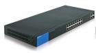 Linksys 18-портовый коммутатор, Gigabit, PoE, Smart (LGS318P-eu)